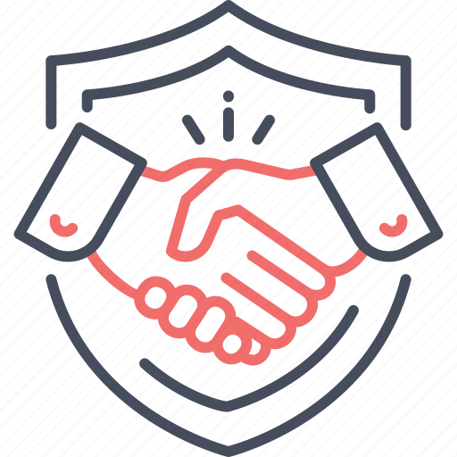 deal, handshake, protection, secure, secure deal, security icon