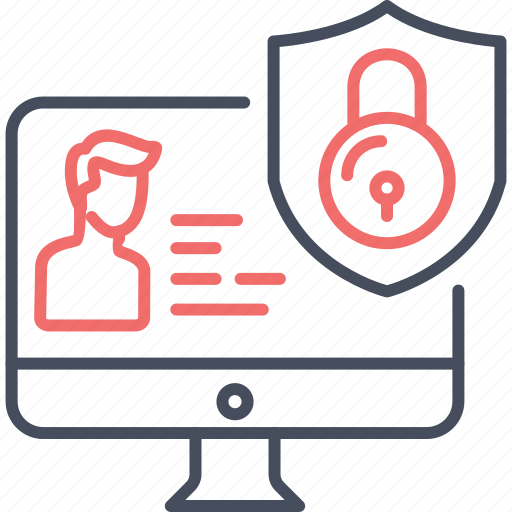 data, detials, privacy, protection, secure, security icon