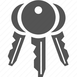 key, lock, protect, security icon