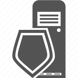 computer, lock, pc, protect, security icon