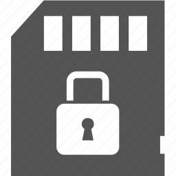 lock, memory, protect, security icon