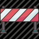 barrier, boundary, block, prevention, stop