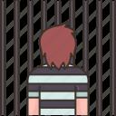 prisoner, arrested, jail, criminal, punishment