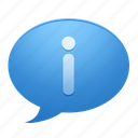 about, bubble, info, information icon