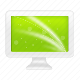 computer, display, lcd, monitor, screen icon