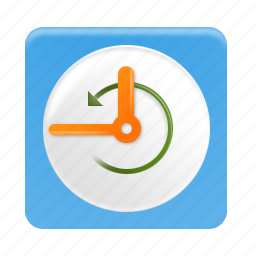 calendar, clock, history, schedule, time, timer icon