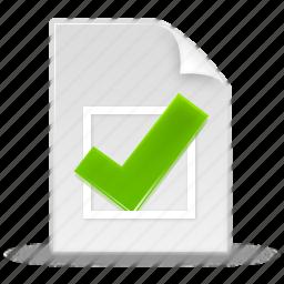 accept, checkmark, correct, good, ok, tick, valid, validation, yes icon