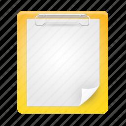 board, clip, clipboard, document, documents, paste icon