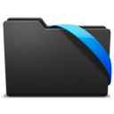 blue, ribbon icon