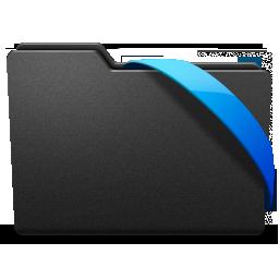 blue, ribbon icon