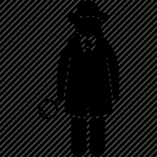 detective, investigate, investigator, mystery, private eye, sherlock holmes icon