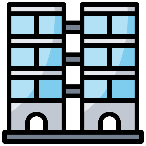 buildings, holidays, hotel, vacations icon