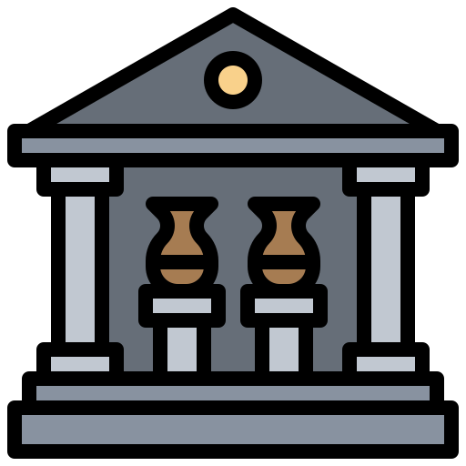 Buildings, greek, monuments, museum, roman, temple icon - Free download