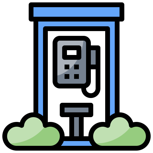 booth, box, call, communications, phone, technology, telephone icon