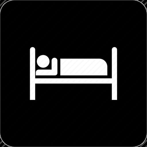 bed, hotel, motel, rest, sleeparea, sleepingzone icon
