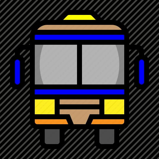 Bus, schoolbus, taxi bus, transportation icon - Download on Iconfinder