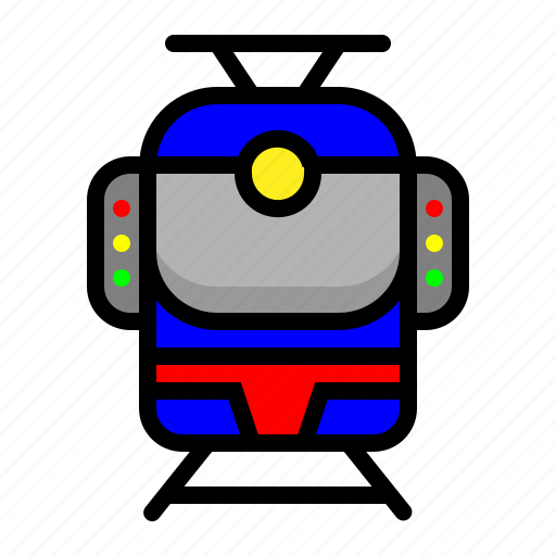 Light rapid transportation, mass rapid transportation, transportation icon - Download on Iconfinder