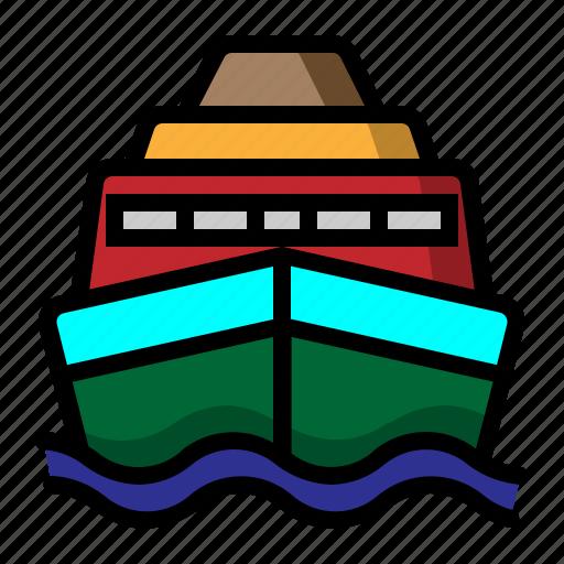 Sea craft, ship, shipboard, transportation icon - Download on Iconfinder