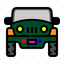 car, jeep, private transportation, transportation icon