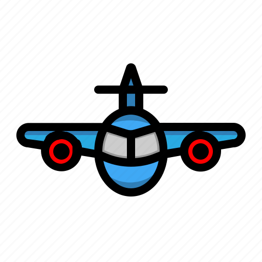 aeroplane, air transportation, plane, transportation icon