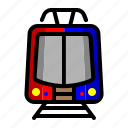 light rail transit, mass rapid transportation, train express train, transportation icon