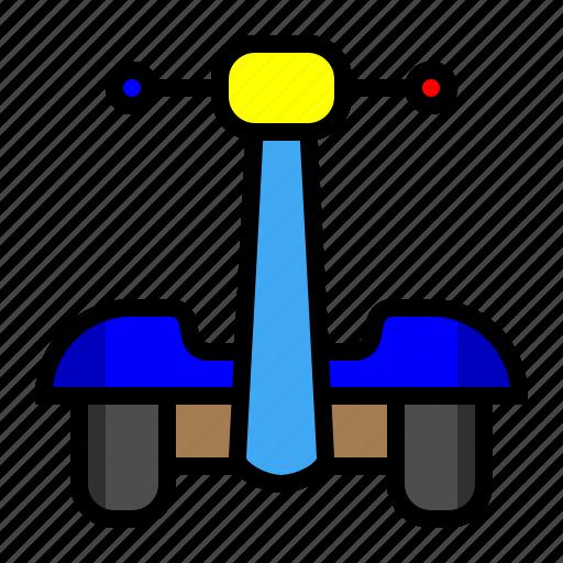 Hoverbike, hoverboard, segway, transportation icon - Download on Iconfinder