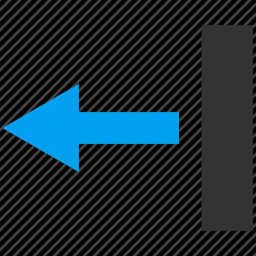 back arrow, direction, left, move, navigation, pointer, send icon
