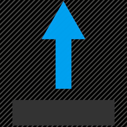 Arrow, direction, move, navigation, pointer, send up, upload icon - Download on Iconfinder