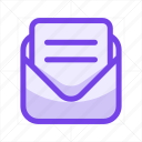 chat, communication, email, envelope, letter, mail, message