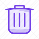 bin, cancel, delete, garbage, recycle, remove, trash