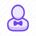 avatar, businessman, man, person, profile, service, user icon