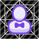 avatar, businessman, man, person, profile, service, user