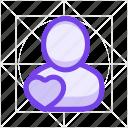 account, avatar, contact, favorite, person, profile, user