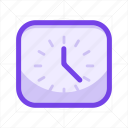calendar, clock, date, event, time, timer, watch icon