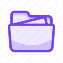 archive, document, file, file format, file type, folder, format icon