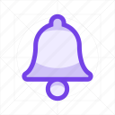 alarm, alert, bell, clock, notification, ring, timer icon