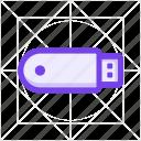 cable, disk, drive, flash, plug, storage, usb