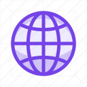 global, internet, network, online, social, web, world icon