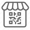 qr, market, shopping, code, qr code, online