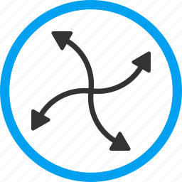 circular arrows, refresh, reload, revolve, rotate, spin, swirl icon