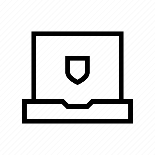 computer, data, notebook, secure, security, server icon