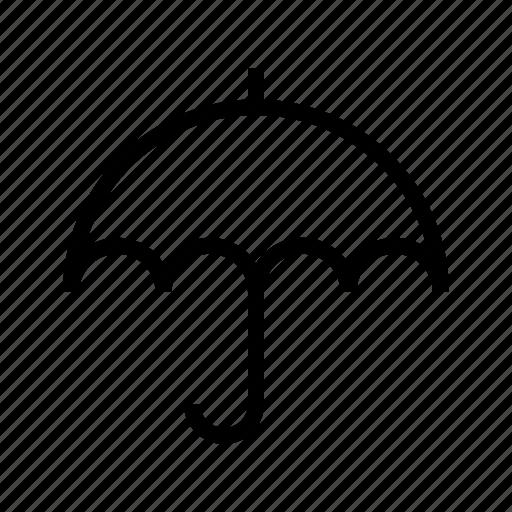 pretection, rain, safe, security, sun, umbrella icon