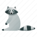 face, fashion, funny, hand, nature, raccoon