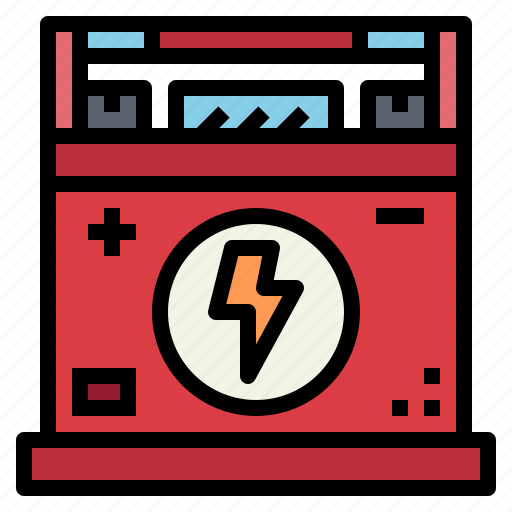 battery, car, energy, power icon