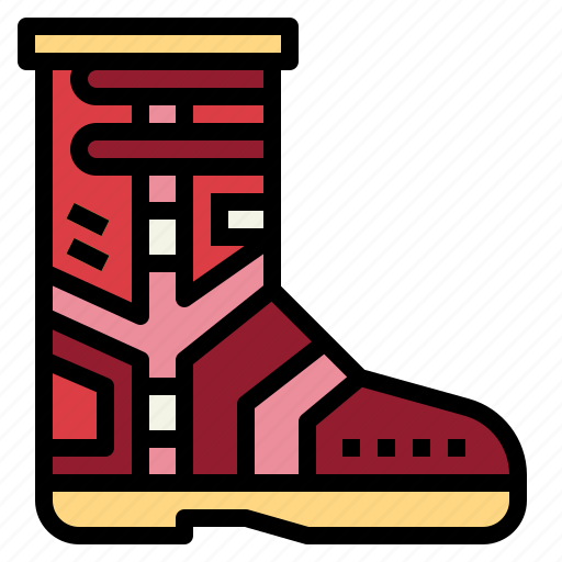 boots, competition, racing, safety icon