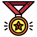 award, champion, medal, winner icon