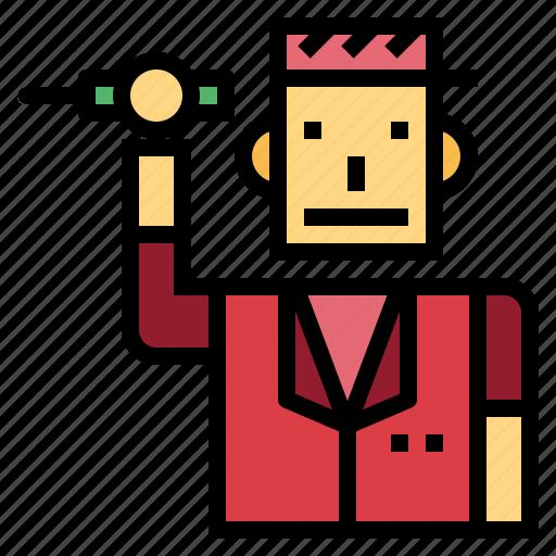 engineer, maintenance, professional, technician icon