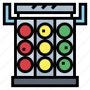 competition, light, racing, signaling, traffic icon