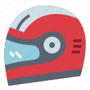 helmet, motorbike, protection, safety icon