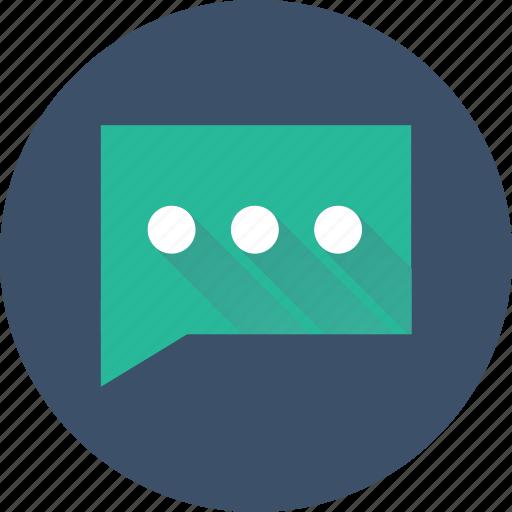 bubble, chat, comment, communication, conversation icon